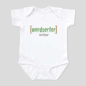 Wordserfer Writer Infant Bodysuit