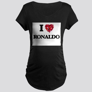 I Love Ronaldo Maternity T-Shirt