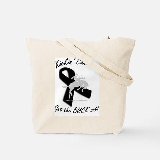 Melanoma cure Tote Bag