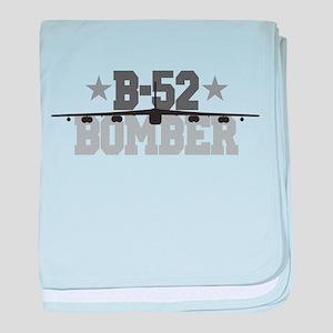 B-52 Aviation baby blanket