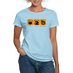 Eat Sleep Halloween Women's Light T-Shirt
