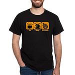 Eat Sleep Halloween Dark T-Shirt