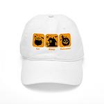 Eat Sleep Halloween Cap
