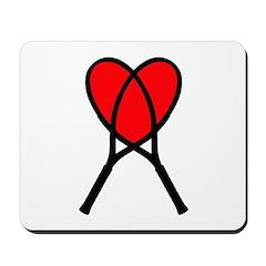 Heart Rackets Mousemat