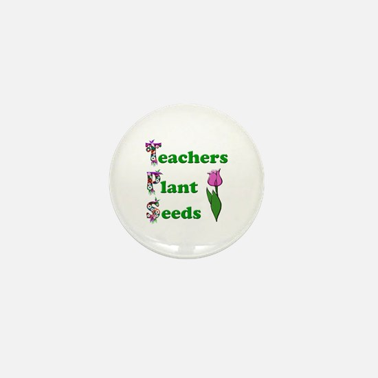 Cute Seeds Mini Button