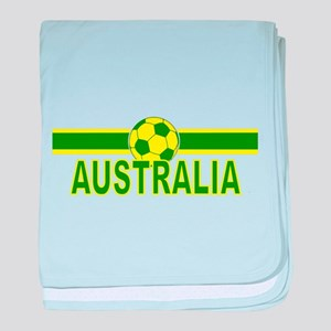 Aussie Soccer 2010 Infant Blanket