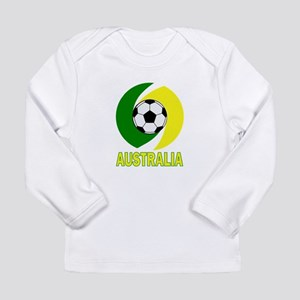 Australia soccer design Long Sleeve Infant T-Shirt