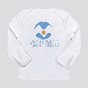 Argentina World Design Long Sleeve Infant T-Shirt