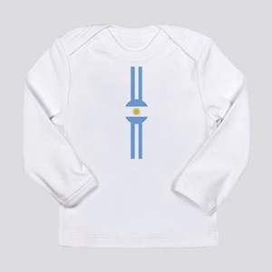 Argentina Sa Vert Design Long Sleeve Infant T-Shir