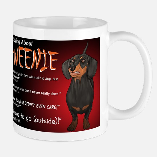 Scary Howl-O-Weenie Mug