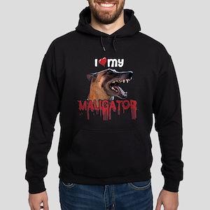 Love My Maligator Hoodie (dark)