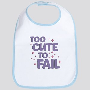 Too Cute to Fail Bib