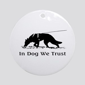dogwetrust Ornament (Round)