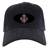 Breast cancer ribbon Baseball Cap with Patch