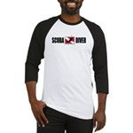 Scuba Diver Baseball Jersey