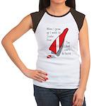 When I Grow Up Women's Cap Sleeve T-Shirt