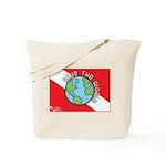 DiveWorld Flag Tote Bag