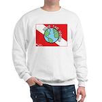 DiveWorld Flag Sweatshirt