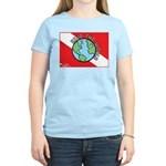 DiveWorld Flag Women's Light T-Shirt