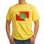 DiveWorld Flag Yellow T-Shirt