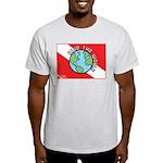 DiveWorld Flag Light T-Shirt