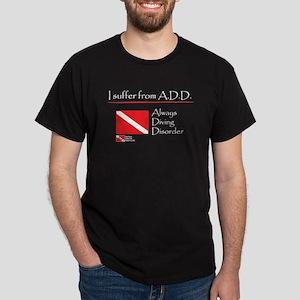 ADD Always Diving Dark T-Shirt