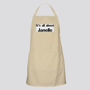 It's all about Janelle BBQ Apron