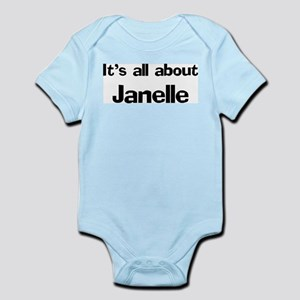 It's all about Janelle Infant Creeper