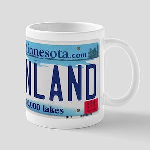 Finland License Plate Mug