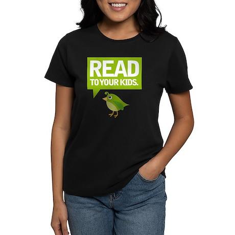 Cute Read To Your Kids Women's Dark T-Shirt