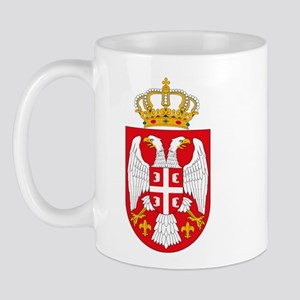 Serbian Coat of Arms Mug