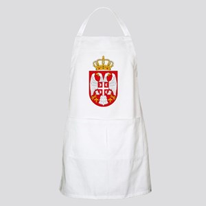 Serbian Coat of Arms BBQ Apron
