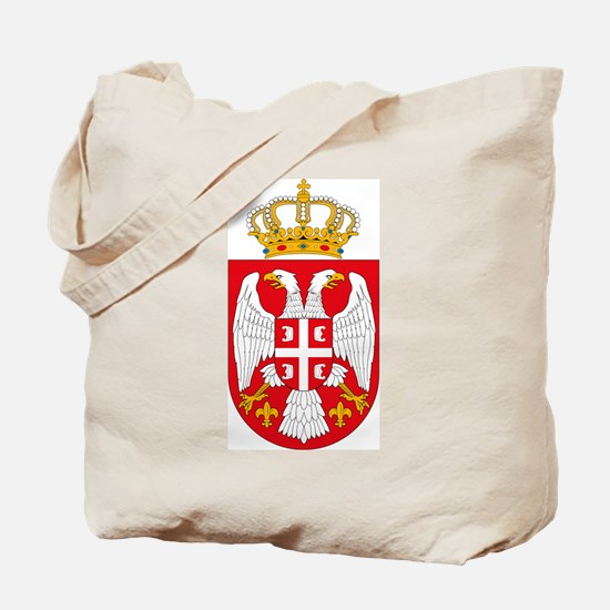 Serbian Coat of Arms Tote Bag