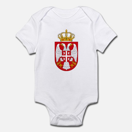 Serbian Coat of Arms Infant Creeper