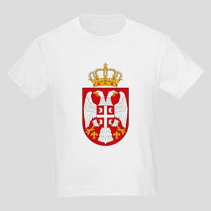 Serbian Coat of Arms Kids T-Shirt