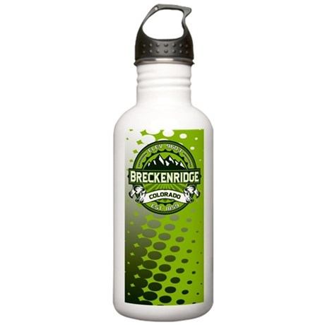 Breckenridge Green Stainless Water Bottle 1.0L