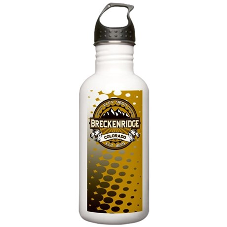 Breckenridge Tan Stainless Water Bottle 1.0L