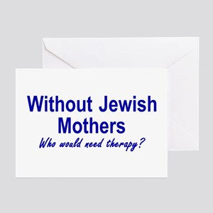 Jewish Mothers Greeting Cards (Pk of 10)