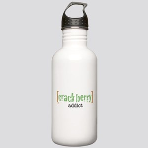 Crackberry Addict Stainless Water Bottle 1.0L