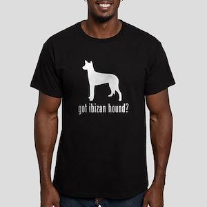 Ibizan Hound Men's Fitted T-Shirt (dark)
