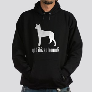 Ibizan Hound Hoodie (dark)