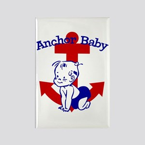 Anchor Baby Rectangle Magnet