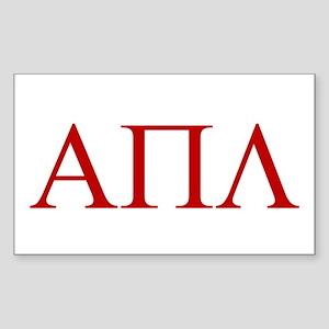 APL Sticker (Rectangle)