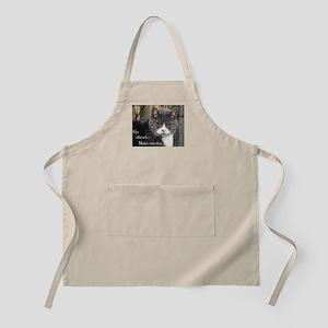 Go ahead Make my day - Cute Cat Apron
