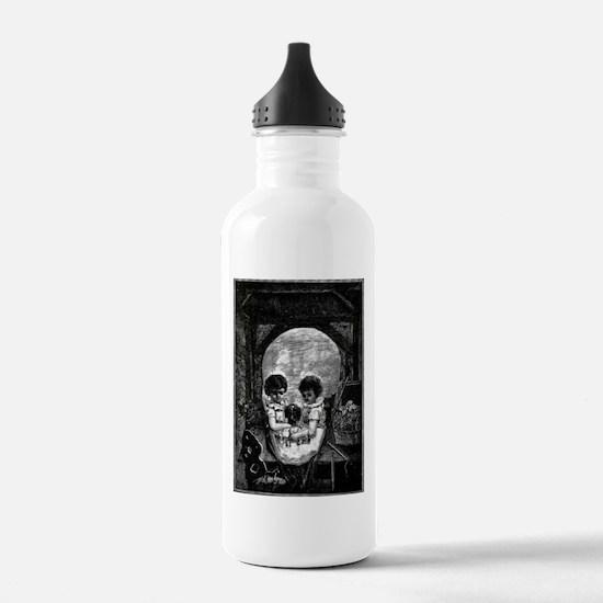 Skull Children Water Bottle
