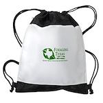 Foraging Texas Know Logo Drawstring Bag