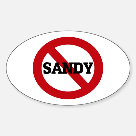 Anti-Sandy Oval Decal