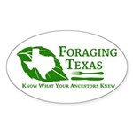 Foraging Texas Know Logo Sticker
