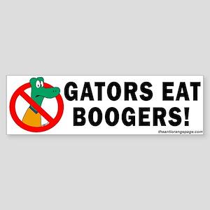 Anti-Gators Sticker (Bumper)