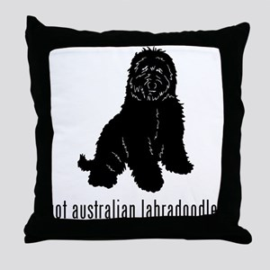 Australian Labradoodle Throw Pillow